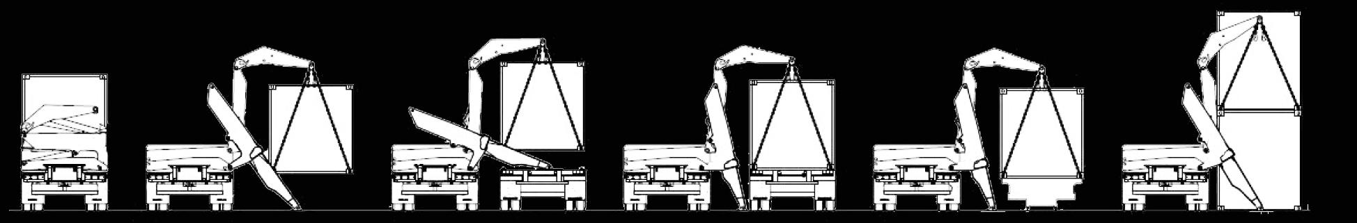 sideloader caricatori di container